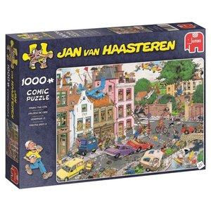 Jumbo 19069 - Freitag der 13., Jan v. Haasteren, Comicpuzzle, Pu