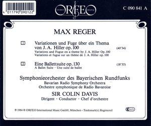 Hiller-Variationen op.100/Ballettsuite op.130