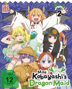 Miss Kobayashi\'s Dragon Maid - DVD 2