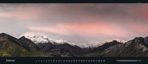 Der Blick ins Weite 2018. GEO-Panorama Naturkalender