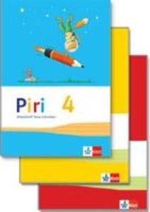 Piri Das Sprach-Lese-Buch. Arbeitsheft Druckschrift 4. Schuljahr