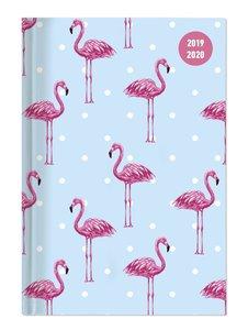 Collegetimer A6 Tag Flamingo 2019/2020