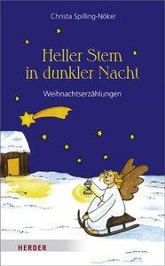 Heller Stern in dunkler Nacht