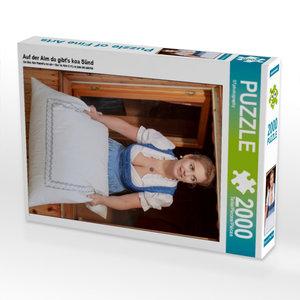 Auf der Alm da gibt\'s koa Sünd 2000 Teile Puzzle hoch