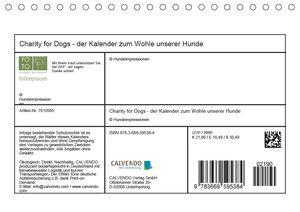 Charity for Dogs - der Kalender zum Wohle unserer Hunde (Tischka