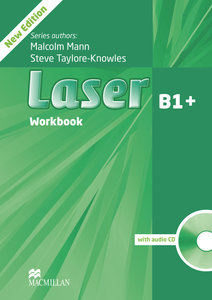 Laser B1+. Workbook with Audio-CD without Key