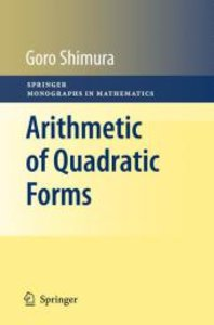 Arithmetic of Quadratic Forms