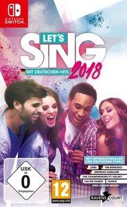 Let\'s Sing 2018 mit Deutschen Hits, 1 Nintendo Switch-Spiel