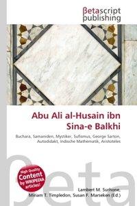 Abu Ali al-Husain ibn Sina-e Balkhi