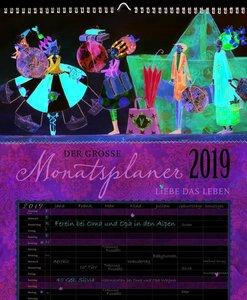 Großer Monatsplaner 2019