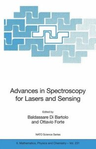 Advances in Spectroscopy for Lasers and Sensing
