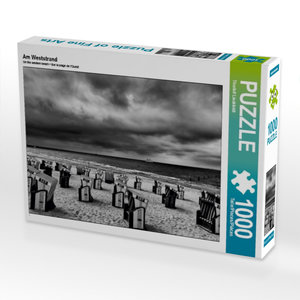 Am Weststrand 1000 Teile Puzzle quer
