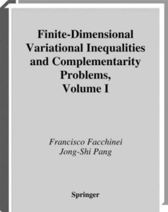 Finite-Dimensional Variational Inequalities and Complementarity