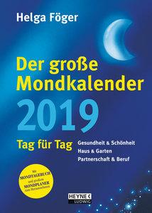 Der große Mondkalender 2019