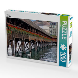 Luzern 1000 Teile Puzzle quer