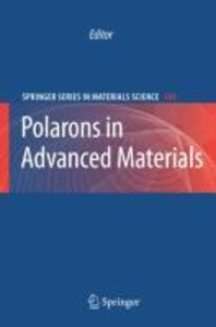 Polarons in Advanced Materials