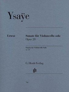 Sonate für Violoncello solo op. 28