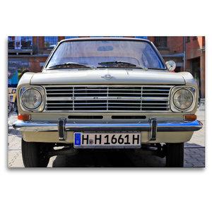 Premium Textil-Leinwand 120 cm x 80 cm quer Opel Kadett