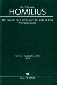 Die Freude der Hirten über die Geburt Jesu HoWV I.1, Klavierausz