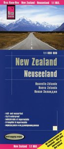 Reise Know-How Landkarte Neuseeland 1 : 1.000.000