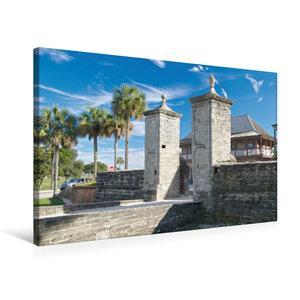 Premium Textil-Leinwand 75 cm x 50 cm quer St. Augustine