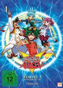 Yu-Gi-Oh! Arc-V. Staffel.1.1, 5 DVD