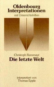Ransmayr: Die letzte Welt