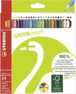STABILO GREENcolors 24er Etui