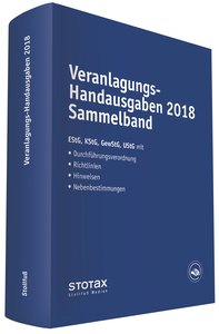 Veranlagungs-Handausgaben 2018 Sammelband