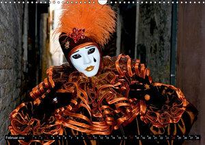 Venedig - Bühne der Masken (Wandkalender 2019 DIN A3 quer)
