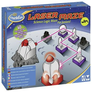 Ravensburger 76348 - ThinkFun®, Laser Maze Junior, Logik-Spiel