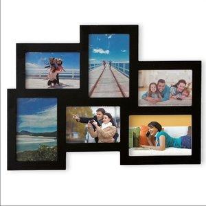 Bilderrahmen Collage 6-fach