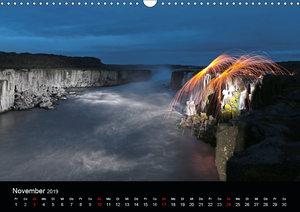 Islandabenteuer 2019 (Wandkalender 2019 DIN A3 quer)