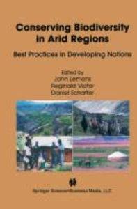 Conserving Biodiversity in Arid Regions