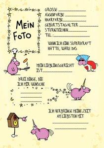 Mein Einhorn-Freundebuch