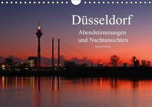 Düsseldorf Abendstimmungen und Nachtansichten