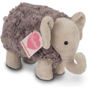 Teddy Hermann 93871 - Elefant Rocky, stehend, 17cm, Plüschtier