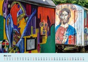 Düsseldorf - Die Kiefernstraße (Wandkalender 2019 DIN A2 quer)