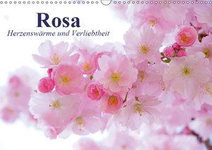 Rosa. Herzenswärme und Verliebtheit (Wandkalender 2019 DIN A3 qu