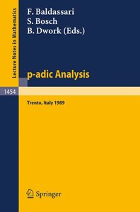p-adic Analysis