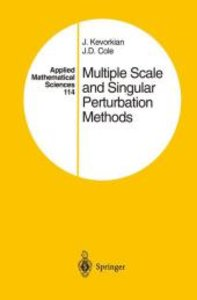 Multiple Scale and Singular Perturbation Methods