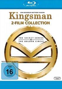Kingsman - 2-Film-Collection, 2 Blu-rays