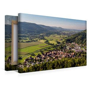 Premium Textil-Leinwand 45 cm x 30 cm quer Blick vom Hummerstein