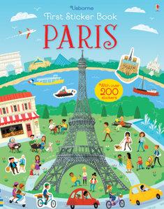 First Sticker Book Paris