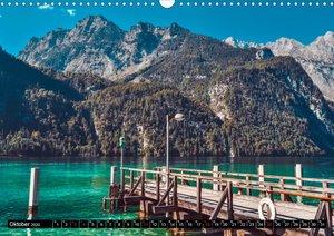 Türkisblaue Seen (Wandkalender 2020 DIN A3 quer)