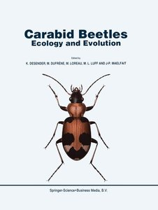 Carabid Beetles: Ecology and Evolution
