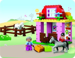 LEGO® Duplo 10500 - Pferdestall