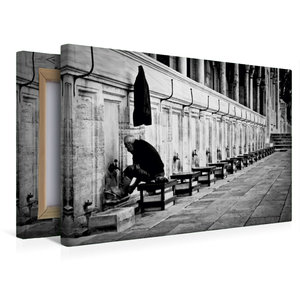 Premium Textil-Leinwand 45 cm x 30 cm quer Sultanahmet Camii - B