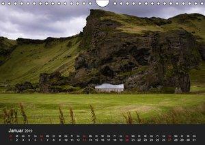 Island (Wandkalender 2019 DIN A4 quer)
