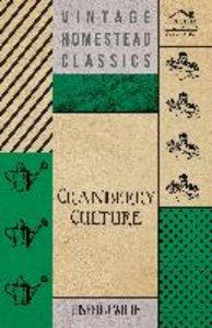 Cranberry Culture